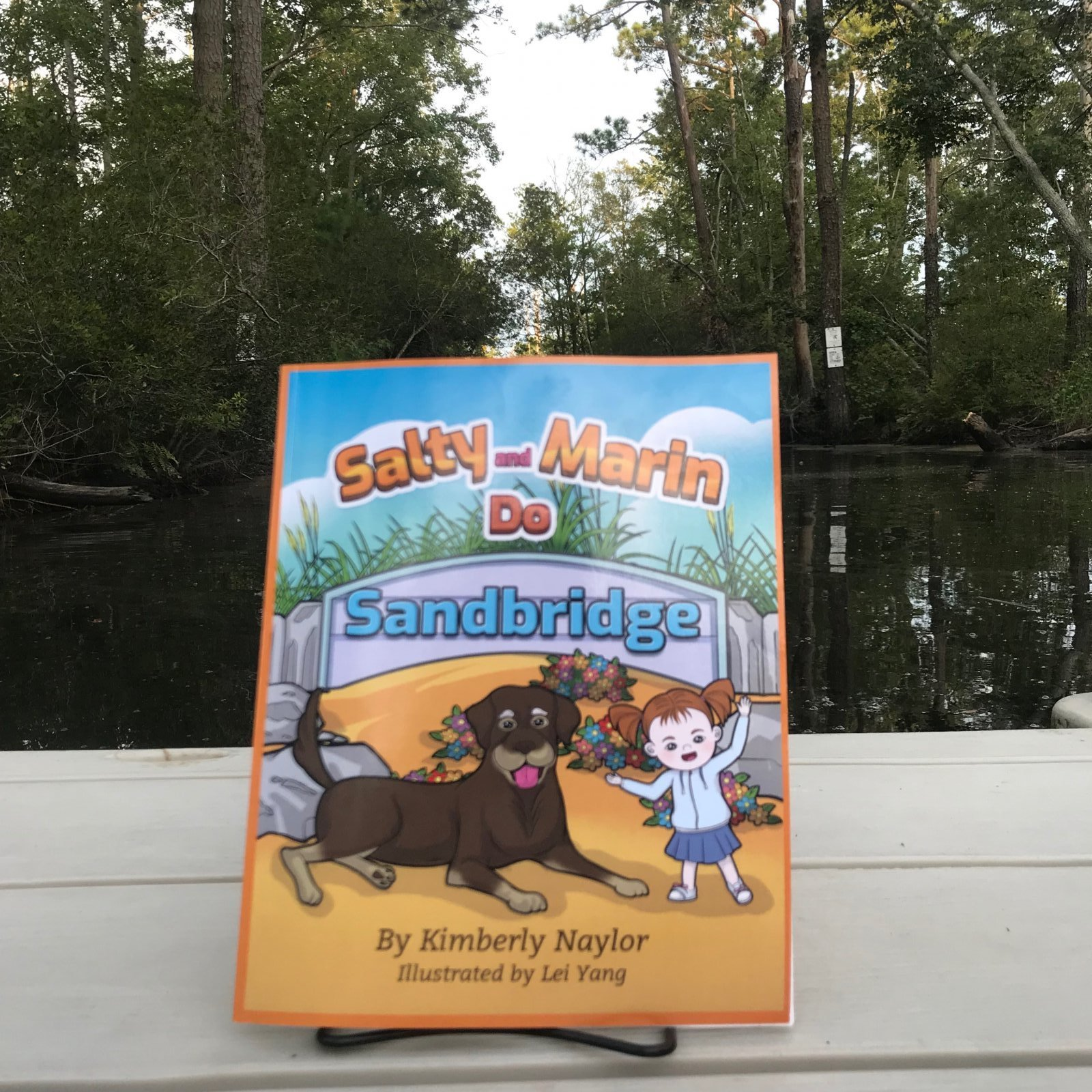 Salty and Marin Do Sandbridge Coloring Book
