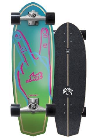 2019   Lost x Carver 31 Plank Surfskate Complete