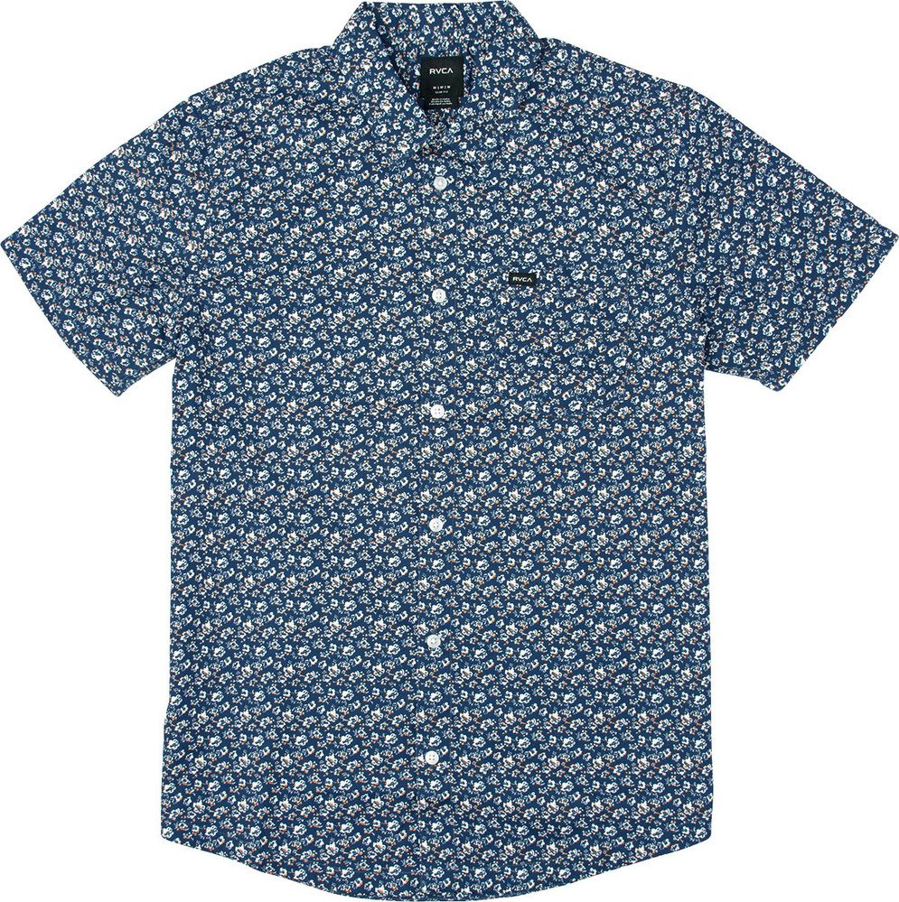 Porcelain Printed Short Sleeve Shirt