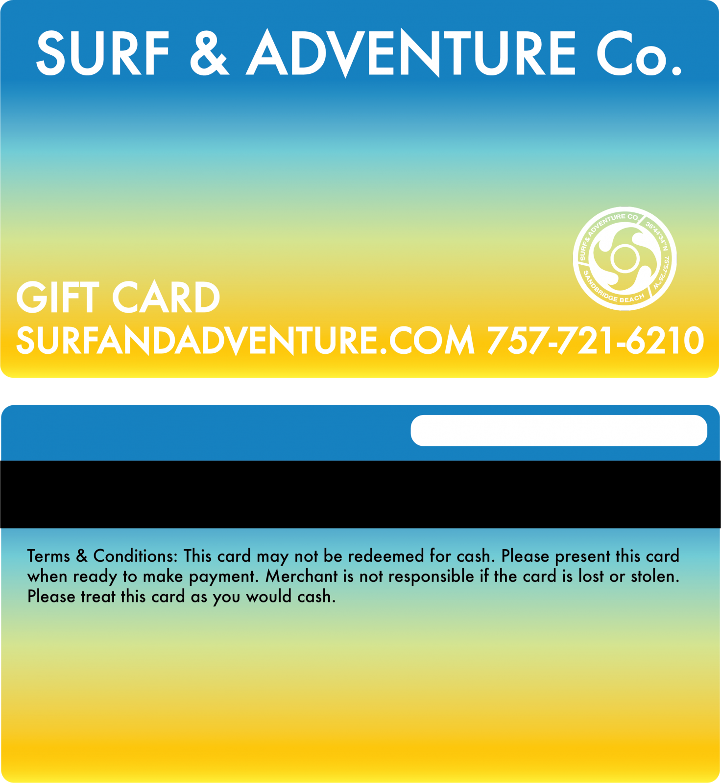 Surf & Adventure Gift Card
