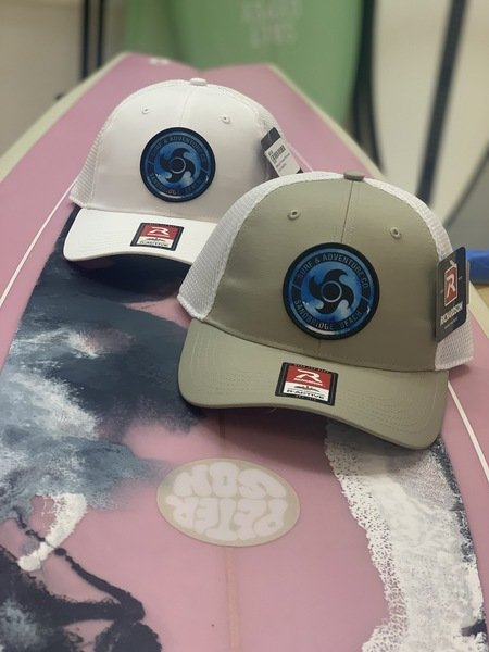 Watercolor Pinwheel Performance Trucker