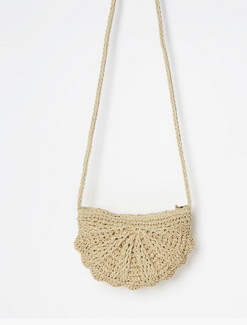 Beach Bliss Straw Crossbody