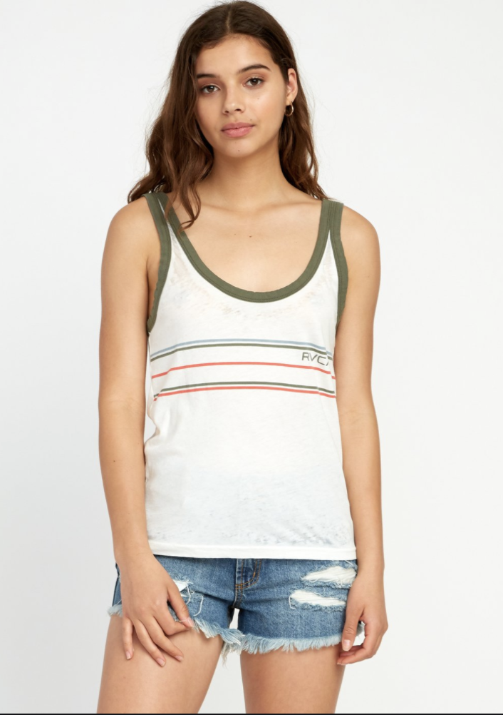 Another Stripe Ringer Tank Top
