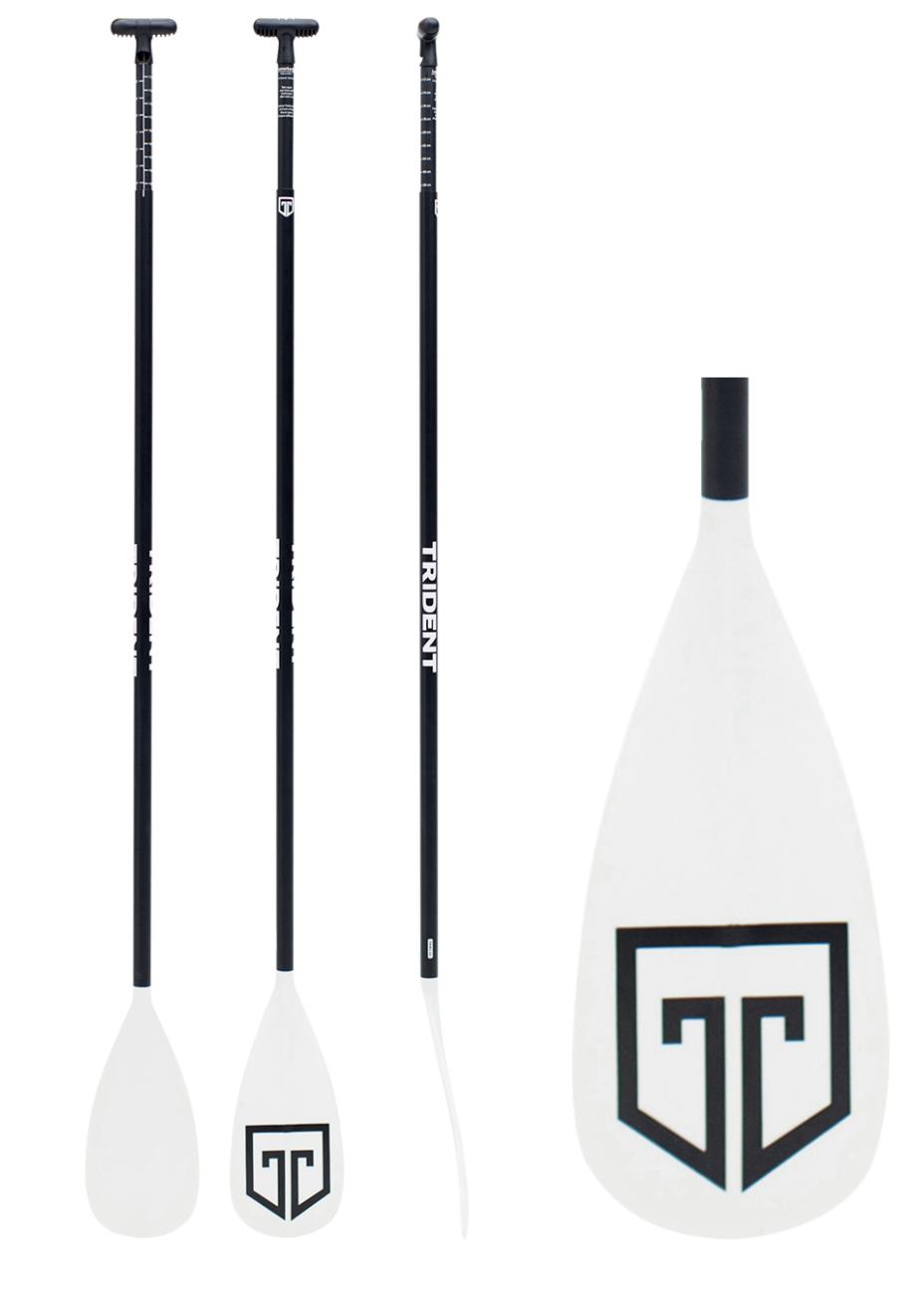 Trident T6 Fiberglass Lever Lock 3 Piece ADJ Paddle (Online Only)