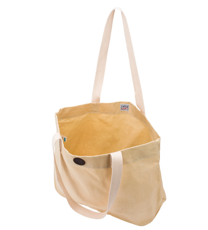 Charlotte Waxed Canvas Tote