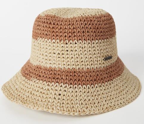 So Simple Straw Bucket Hat