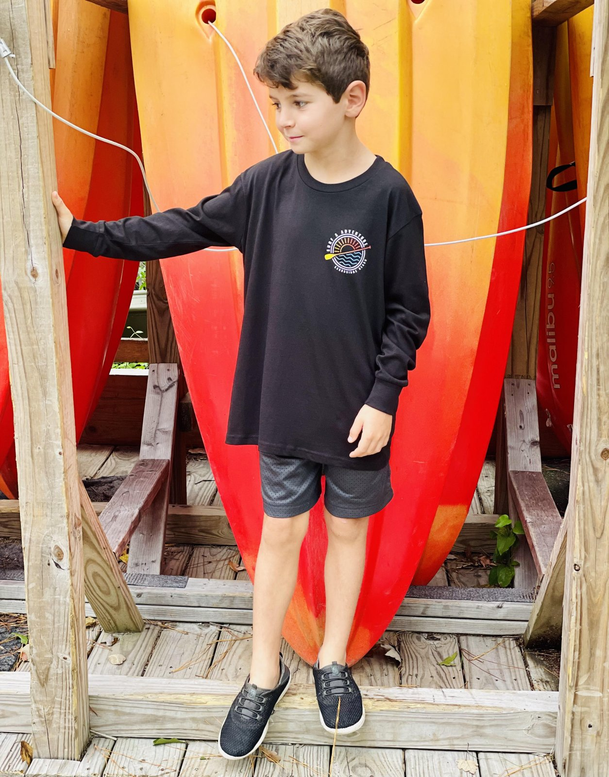 S&A Youth Sun Water & Paddle Long Sleeve