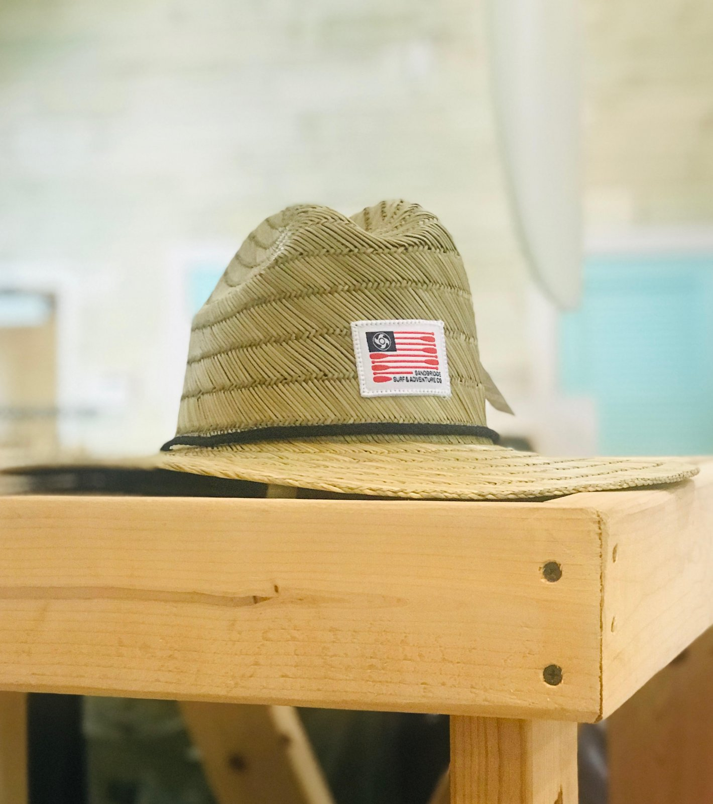 Paddle Flag Straw Hat