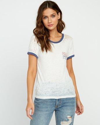 Offset Burnout Ringer T-Shirt