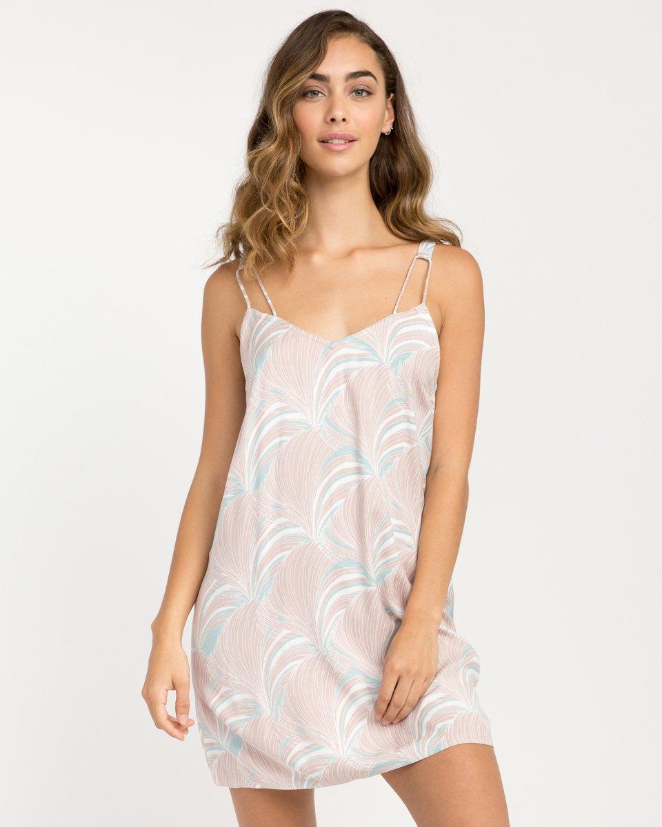 Marigold Printed Dress