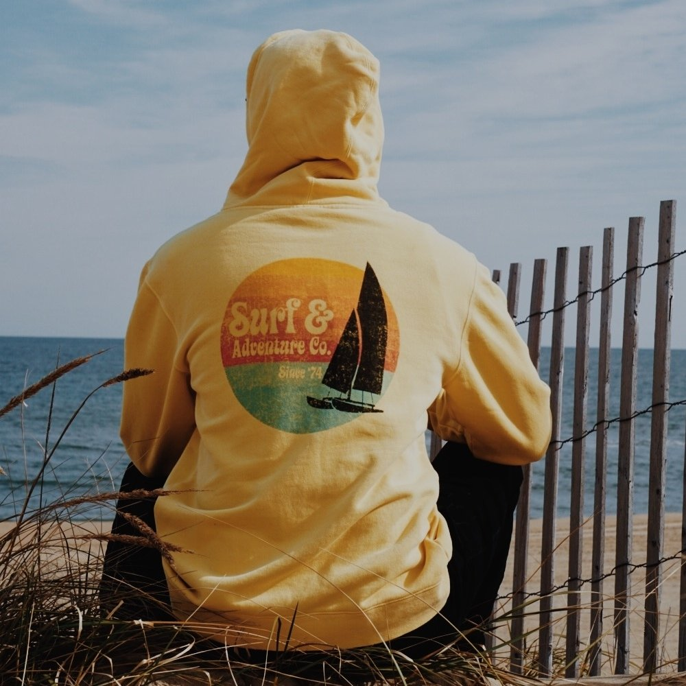 S&A Sail Boat Hoodie