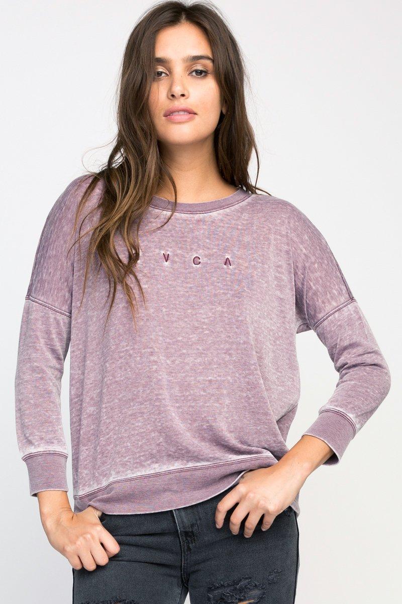 High RVCA Fleece Pullover
