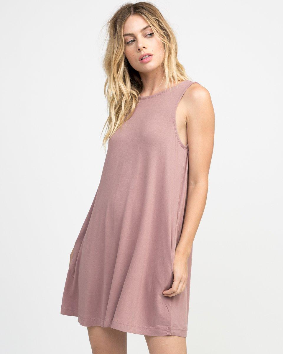 Temped Knit Swing Dress