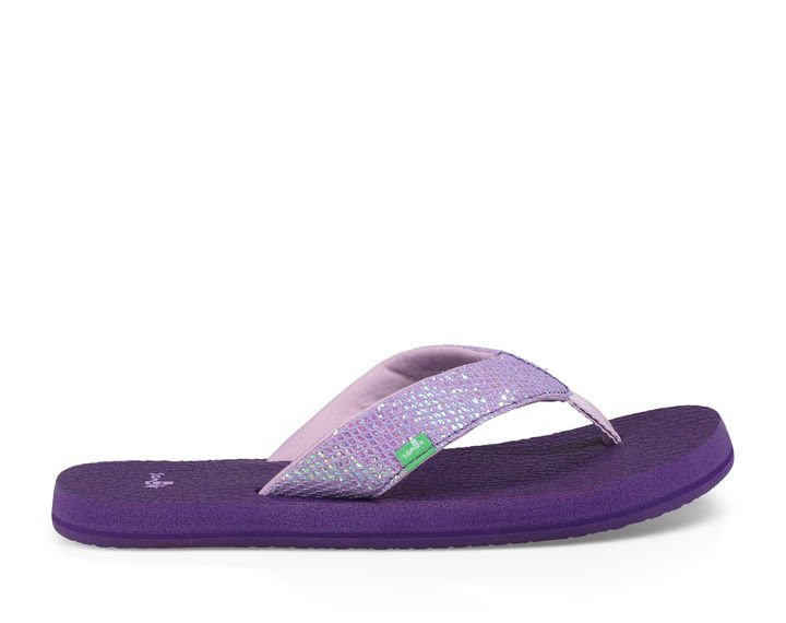 Yoga Glitter with Heel Strap