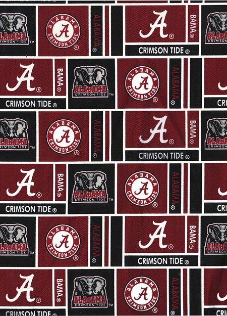 Alabama Crimson Tide Herringbone Box