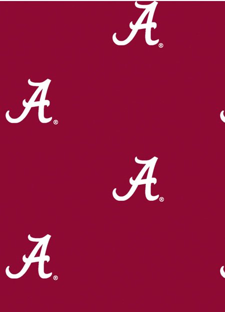 Alabama Crimson Tide Single Logo