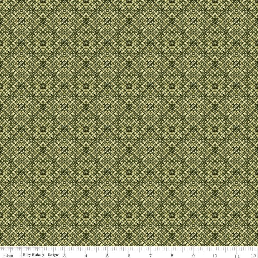 Autumn Hues Diamond Green