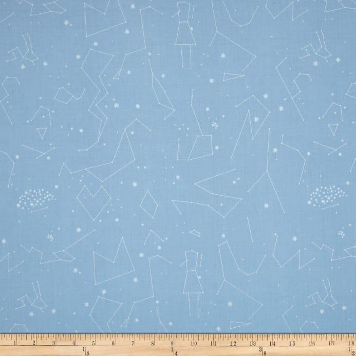 Natural History Constellations Light Blue