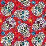 Red Sugar Skulls DT 2888 2C 1