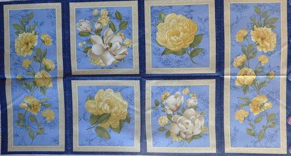 Sunshine Bouquet Panel by Wilmington Prints Pattern 89120
