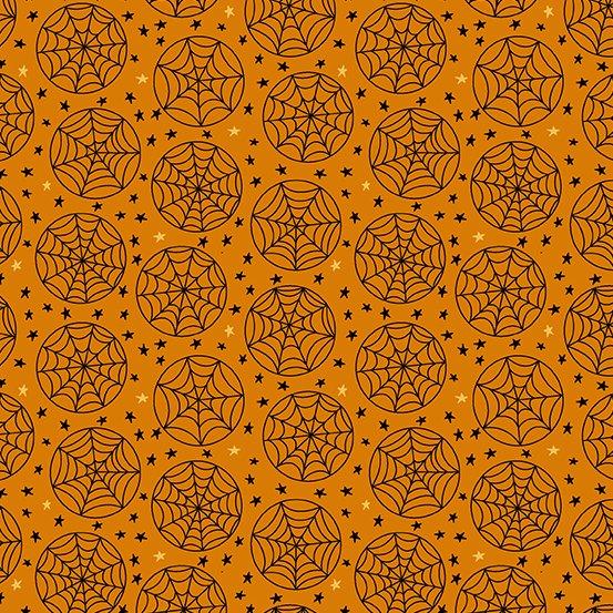 Haunting Web Orbs Orange
