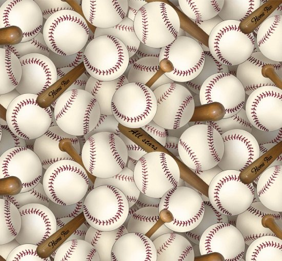 All Stars Baseballs Play Ball White