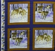 Wolf Pack Panel Pattern 13