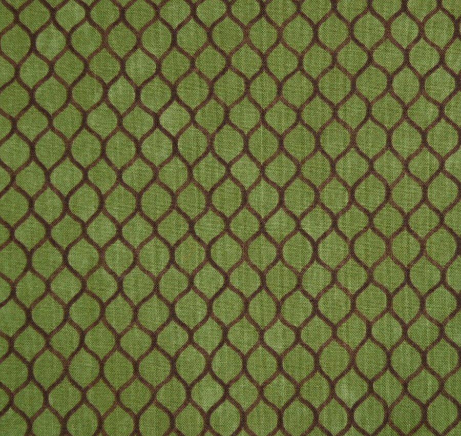 Coordinate Design on Green Background