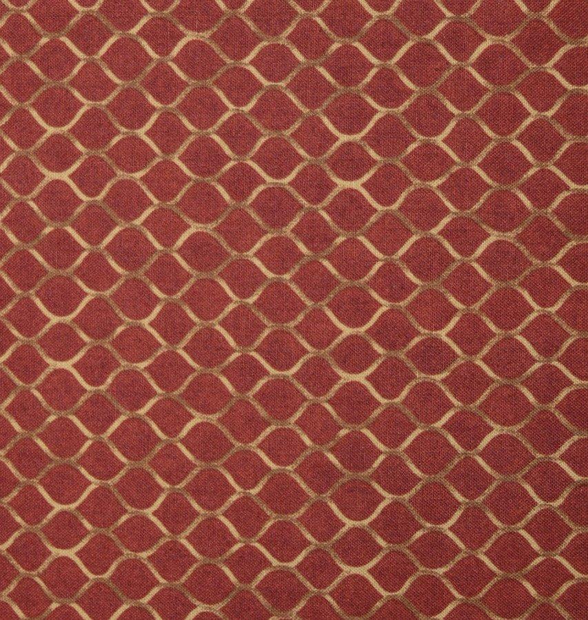 Coordinate Design on Burgundy  Background