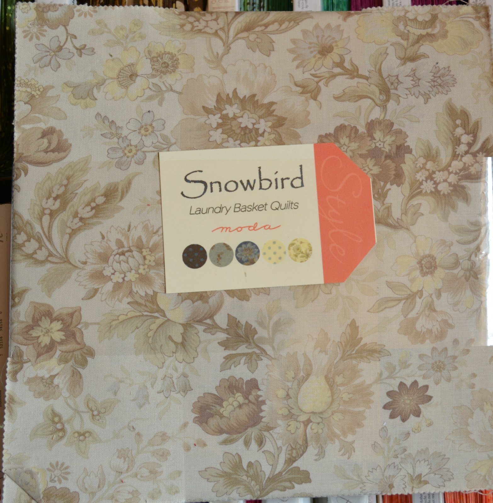 Snow Bird Layer Cake