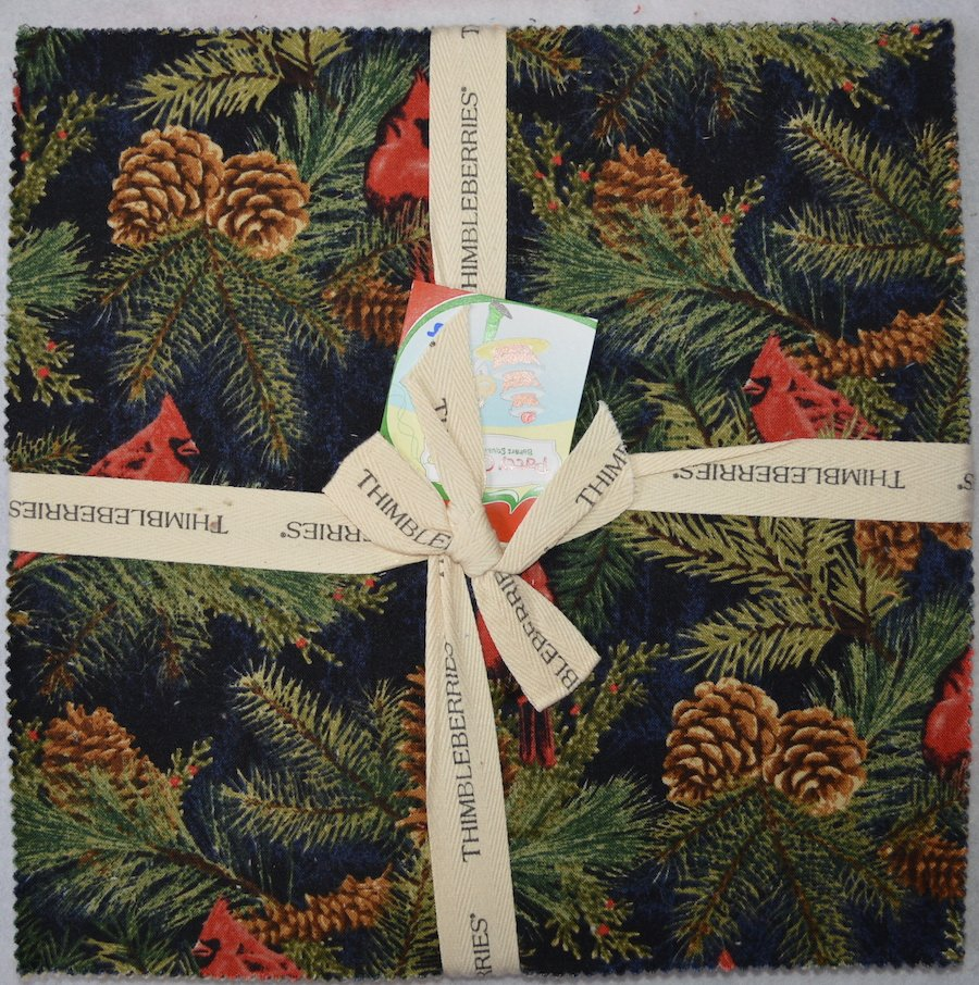 Winter Pine Bakers Squares