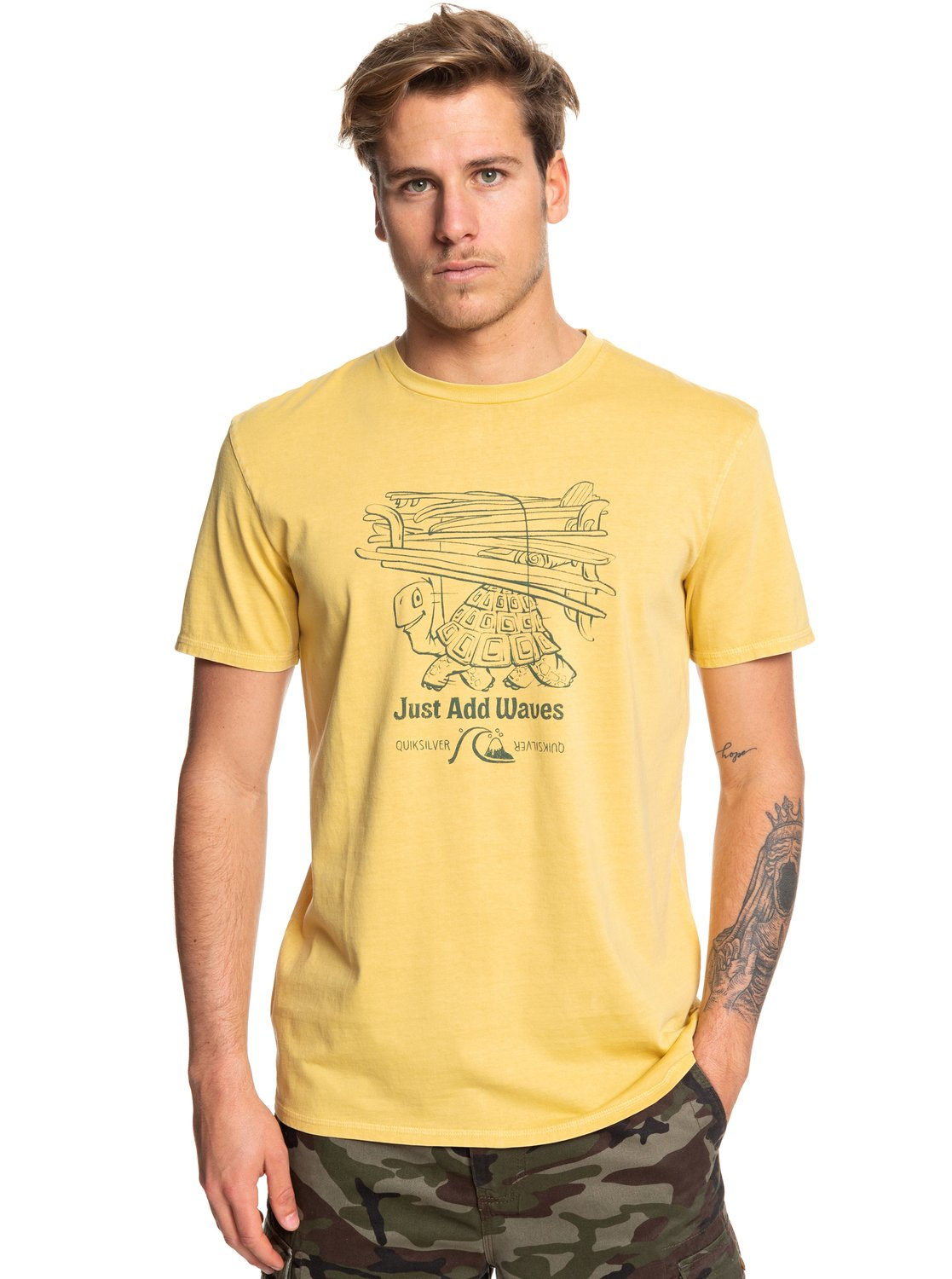 QUIKSILVER CURIOUS ADVENTURER TEE