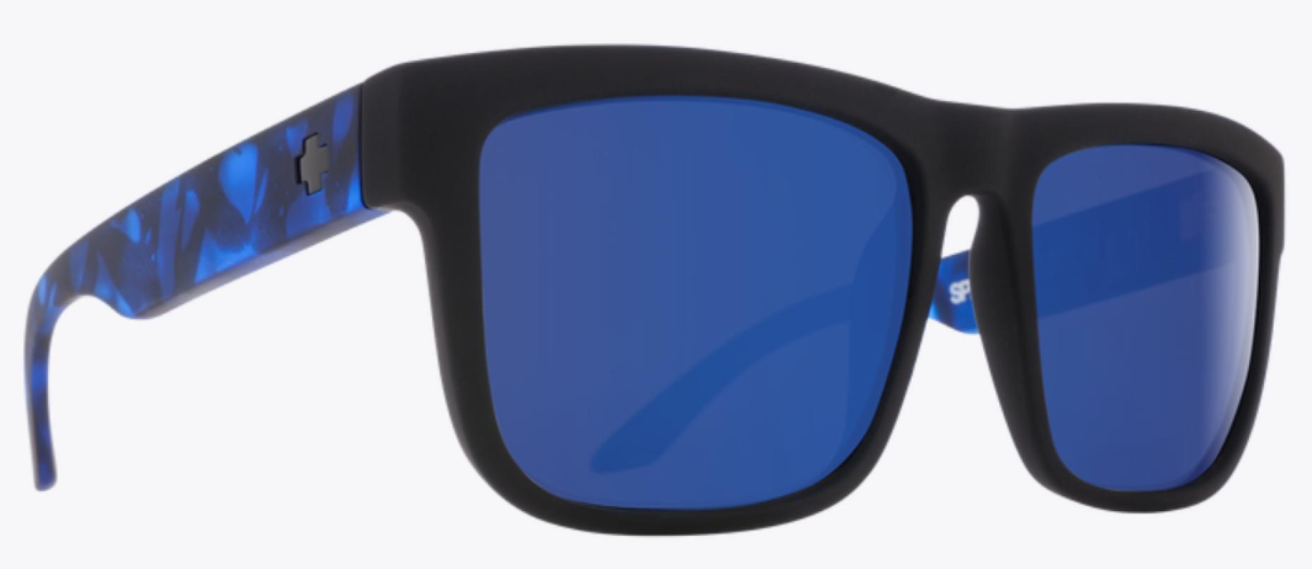 SPY DISCORD SFT MAT BLK BLUE