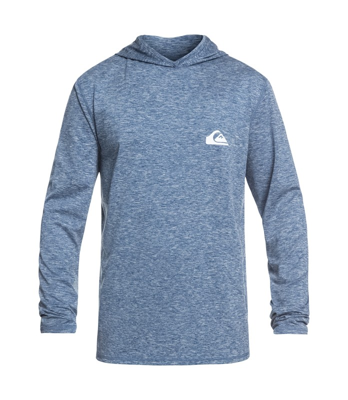 QUIKSILVER DREDGE LS HOODED RASHGUARD