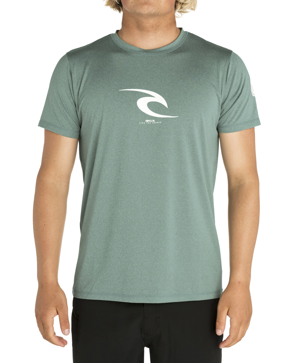 RIP CURL ICON S/SL UV TEE RASH GUARD