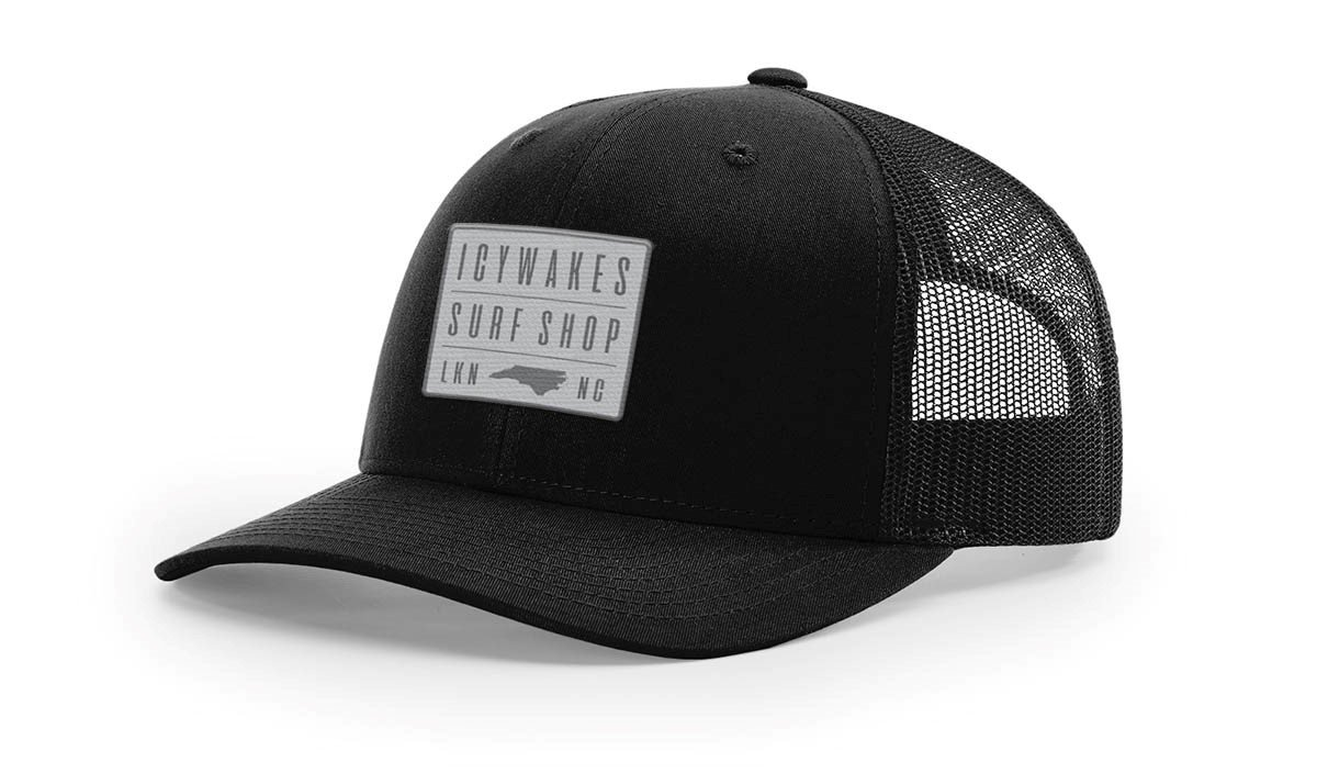 ICYWAKES TRUCKER HAT SQ PATCH