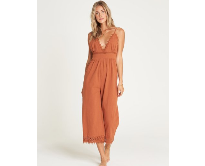 BILLABONG LACE AND LIES JUMPSUIT
