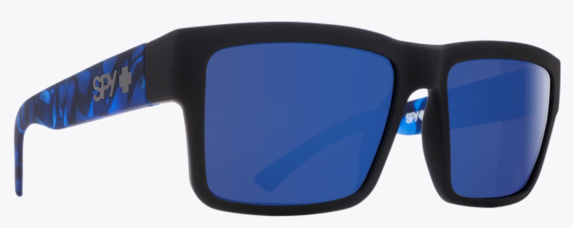SPY MONTANA SFT MAT BLK BLUE