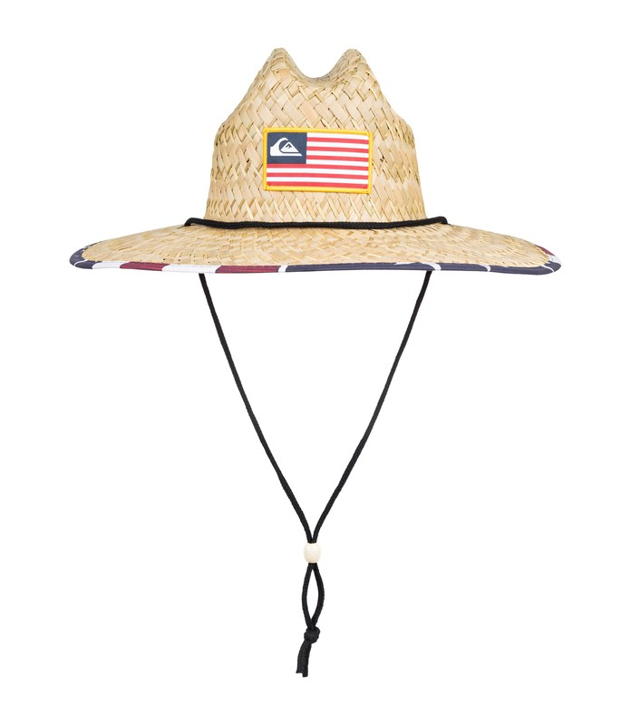 QUIKSILVER OUTSIDER MERICA STRAW HAT