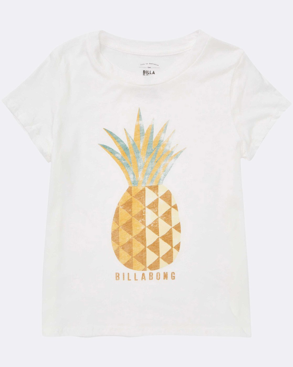 BILLABONG GIRLS SUNNY PINEAPPLE TEE