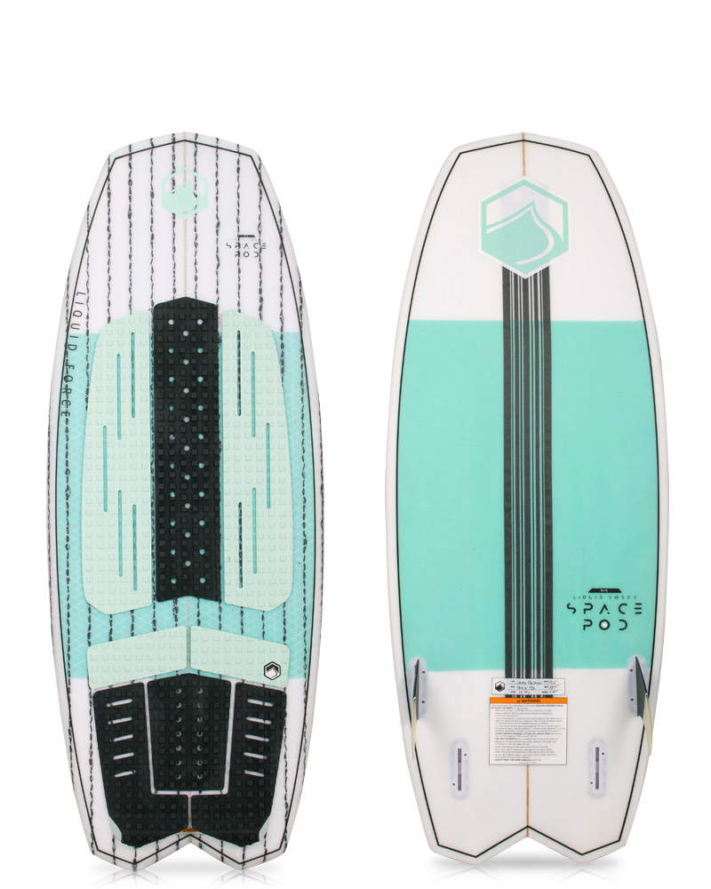LF SPACE POD WAKESURF BOARD 19