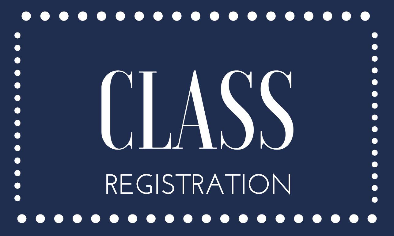 Class Registration Fee
