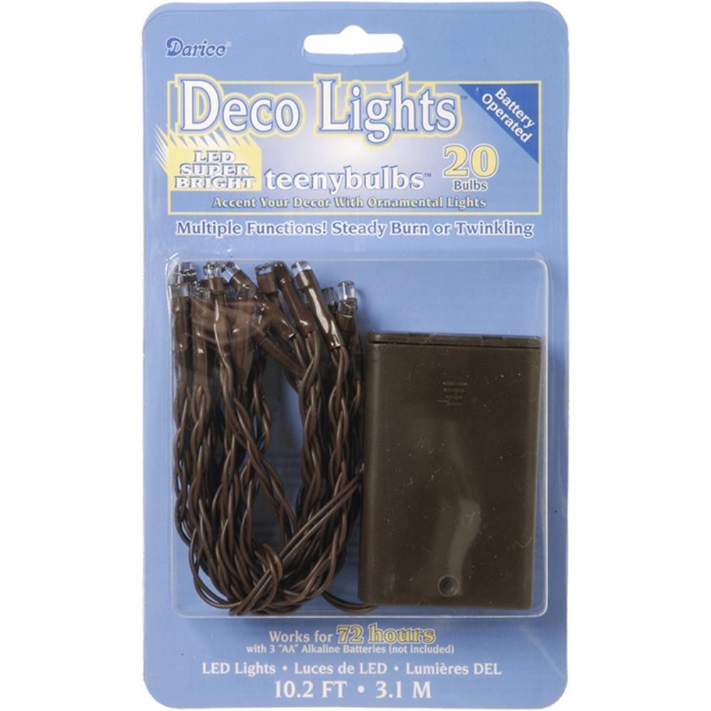 Deco Lights Led 20 Bulbs - Brown
