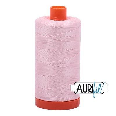 Aurifil Mako 50wt Thread 1422 yd - Pale Pink