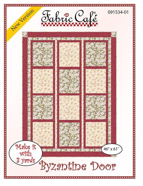 3-Yard Quilt Pattern - Byzantine Door