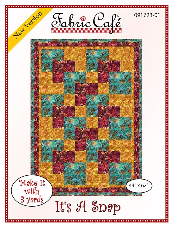 3-Yard Quilt Pattern - It's a Snap