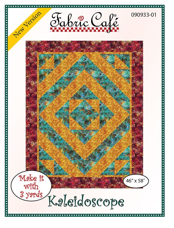 3-Yard Quilt Pattern - Kaleidoscope