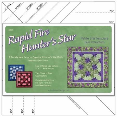 Rapid Fire Hunter's Star Petite Star Ruler