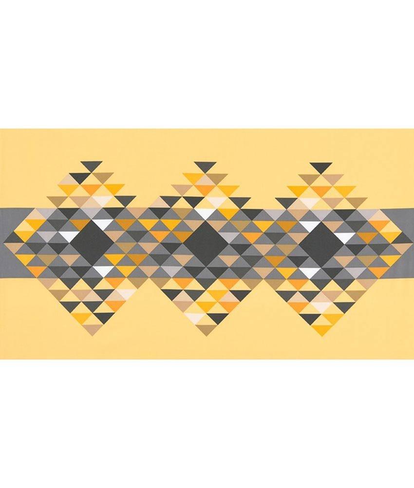 Fragmental Panel in Sunflower