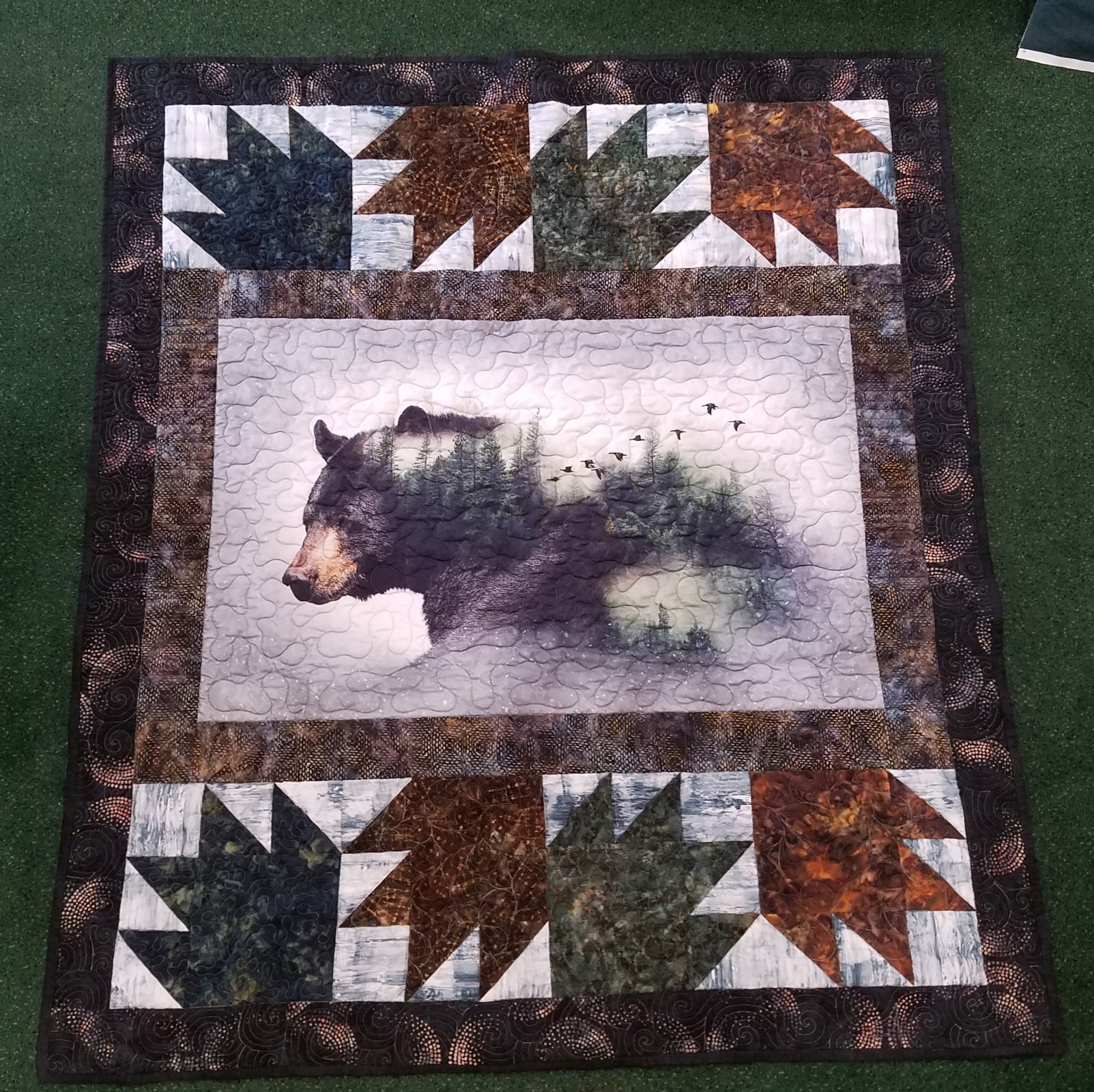 Bear and Paws Kit with Pattern